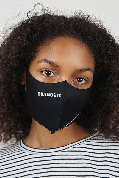 Silence Is Not An Option Mask
