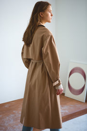 [LETQSTUDIO] Light Weight Tranch Coat_Beige