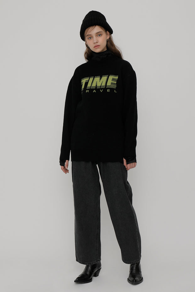 [ROCKETXLUNCH] R Time Travel Knit_Unisex