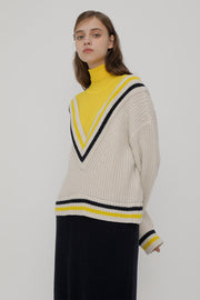 [ROCKETXLUNCH] R V St Rib Knit Dress