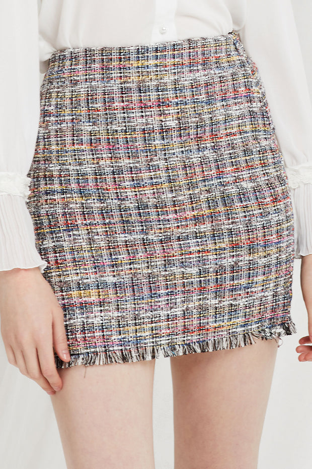 Reese Tweed Skirt