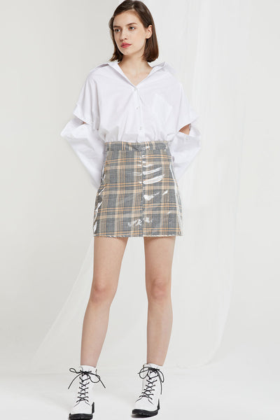 Renata Detachable Sleeve Shirt