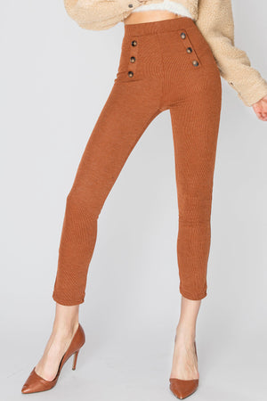 Rona Button Leggings Pants