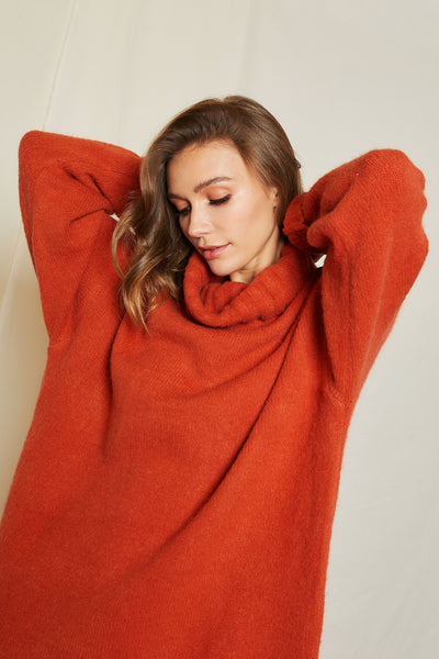 Arabelle Oversized Turtleneck Jumper