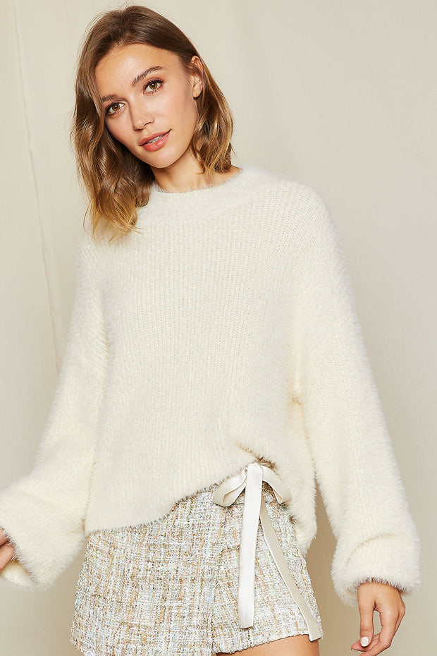 Muffy Fluffy Sweater Top