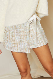 Mabel Tweed Wrapped Skort