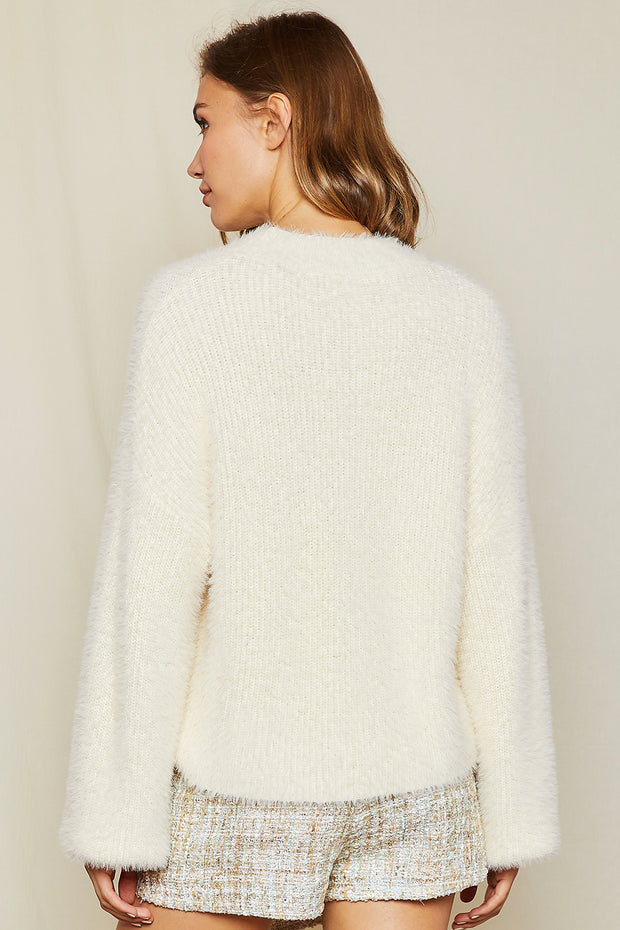storets.com Muffy Fluffy Sweater Top
