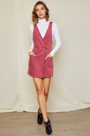 Esther Corduroy Overall Dress