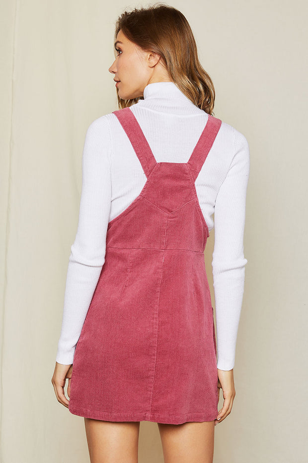 storets.com Esther Corduroy Overall Dress
