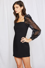 Hailey Organza Sleeve Dress