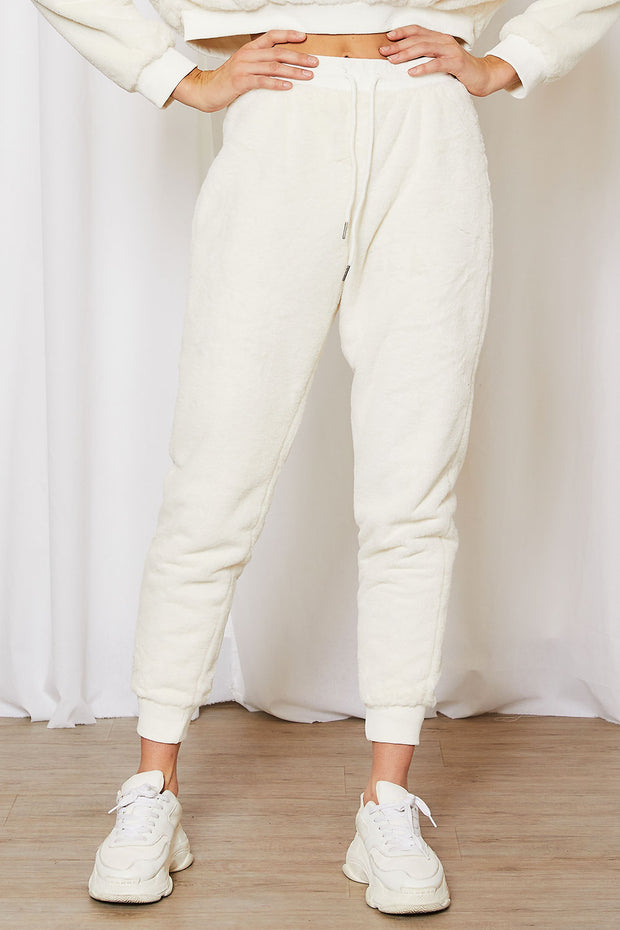 storets.com Lily Fuzzy Jogger Pants