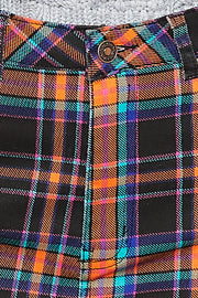 storets.com Nora Plaid Mini Skirt