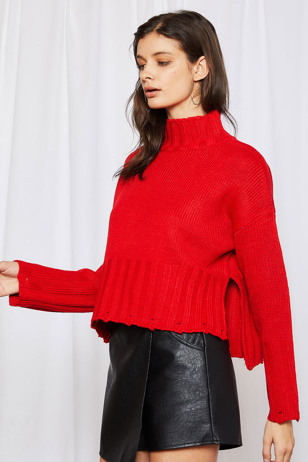 storets.com Lydia Ribbed Crop Jumper