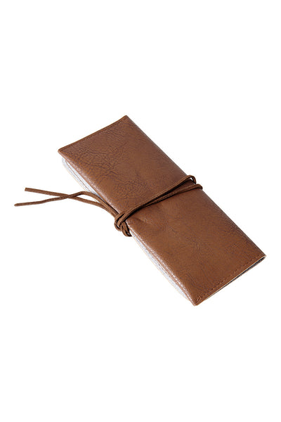 Strap Sunglasses Case-Brown