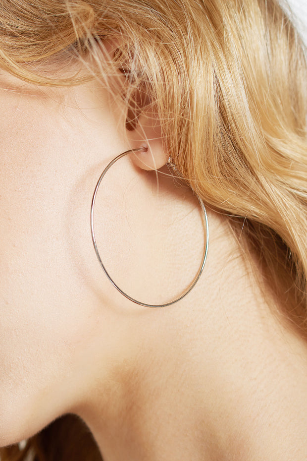Thin Ring Earrings-2 Colors