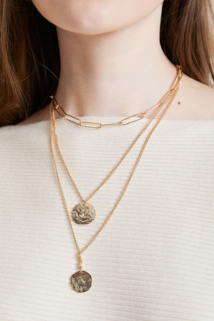 Thrice Layered Necklace
