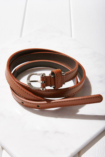 U-buckle Leather Belt-3 Colors