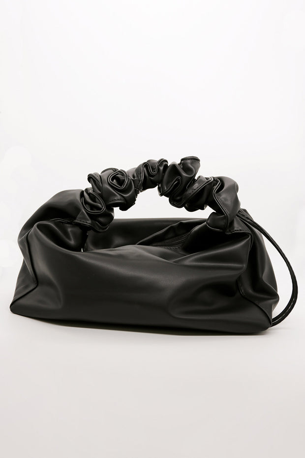 storets.com Ruched Handle Tote Bag