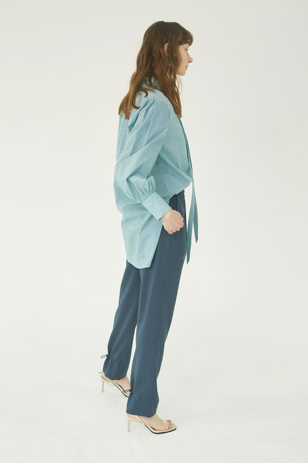 [NUVO10] PANTS_silky tapered pants