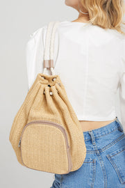 Weaved Drawstring Bag