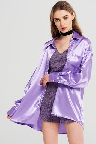 Allison Satin Shine Blouse