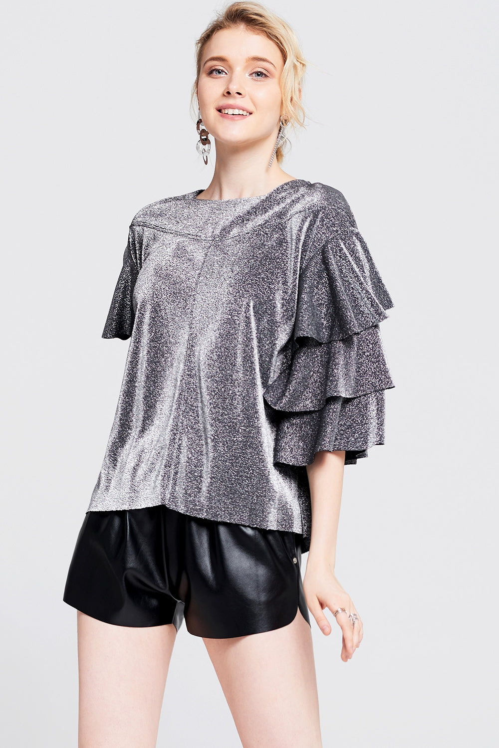 Amelia Tiered Sleeve Top
