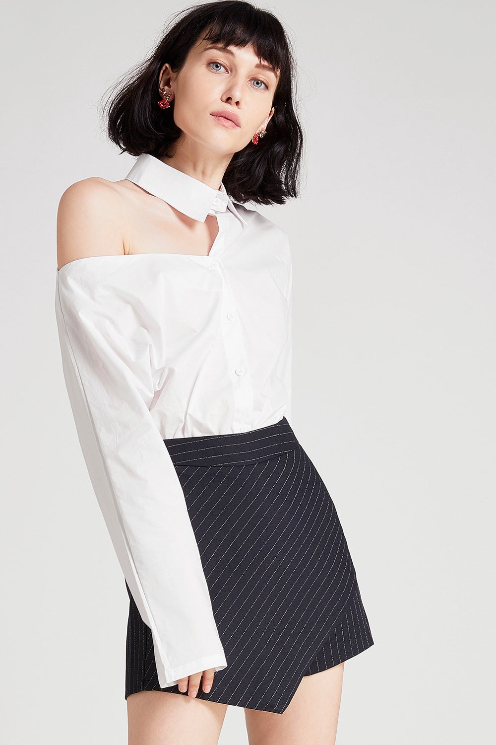 Anne One Shoulder Cut Out Top