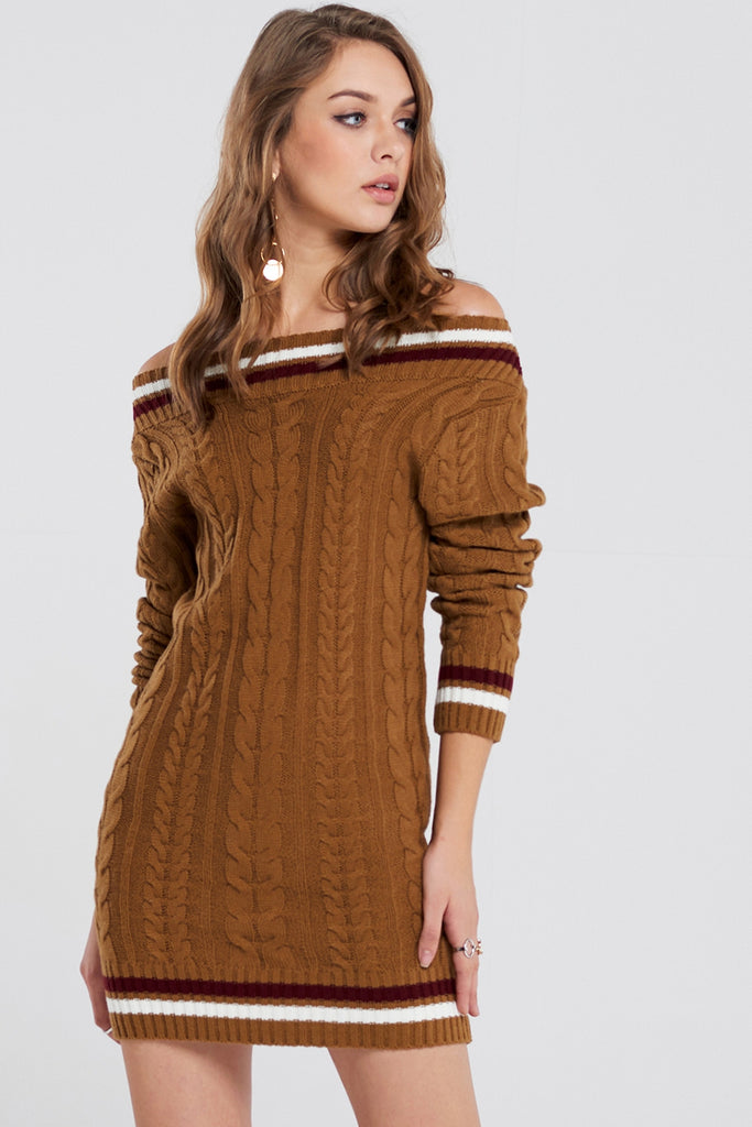 Aria Cable Knit Dress