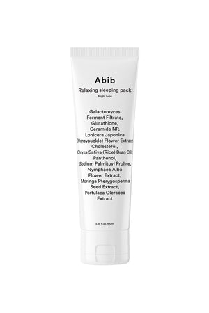 ABIB Relaxing Sleeping Pack Bright Tube