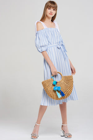 Weaved Bucket Bag