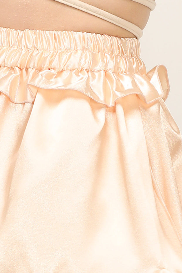 Kelly Satin Angelic Skort