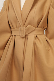 storets.com Aubrey Structured Puff Sleeve Coat