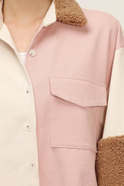 storets.com Callie Color Block Teddy Shirt
