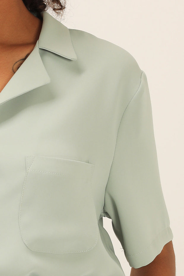 Destiny Notch Collar Shirt