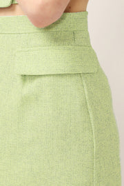 Ella Tweed Mini Skirt