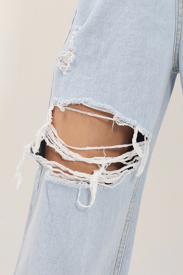 Kenzie Ripped Cutout Jeans