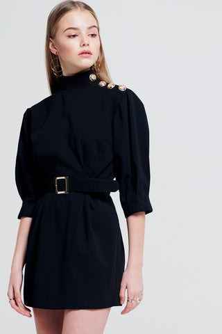Dion Dress With Belt