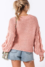 DOUBLE ICON - LOVE LIKE THIS SWEATER - PINK - Shop Double Icon
