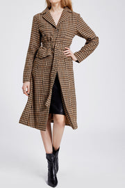 Izabella Long Coat With Belt