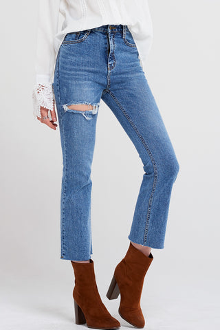 Edna Cut Out Jeans