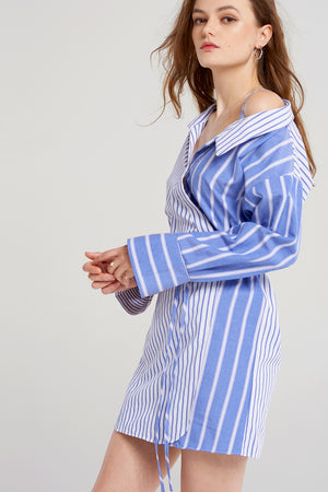 Eloise Stripe Combo Dress