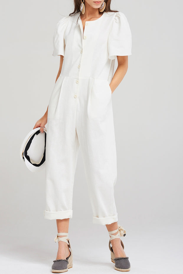 Brooke Puff Jumpsuit