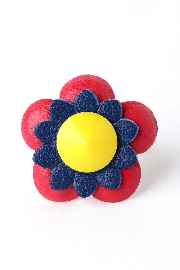 Primary Color Flower Ring