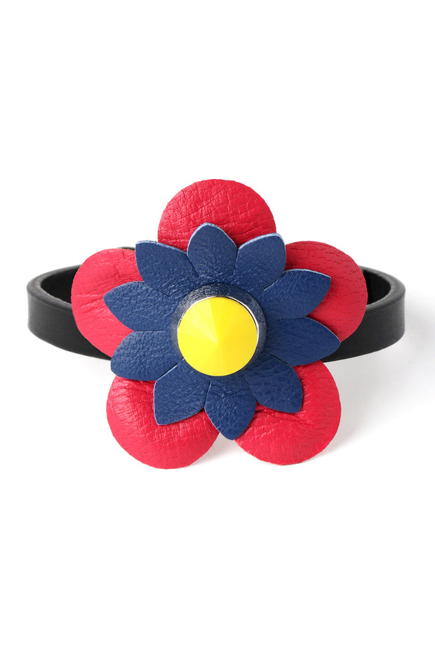 Primary Color Flower Bracelet