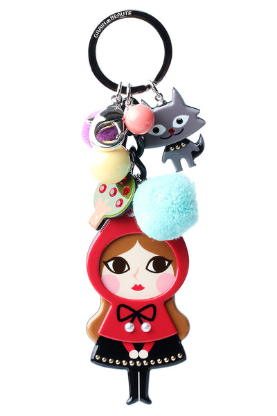 Red Riding Hood Key Chain