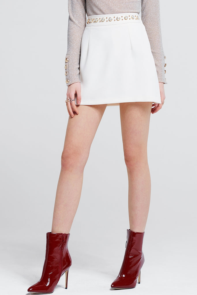Jane Pearl Mini Skirt