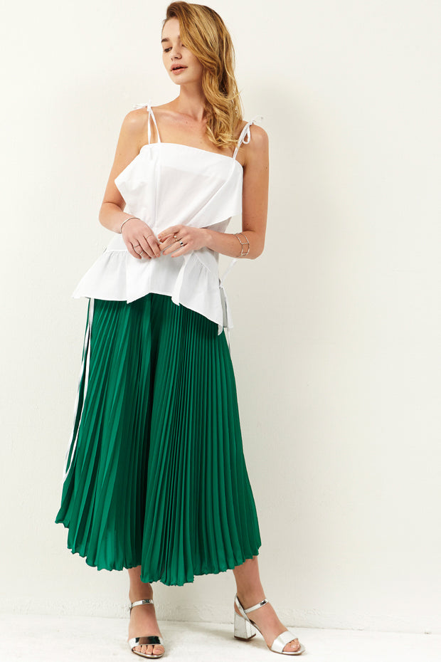 Joan Pleated Pants