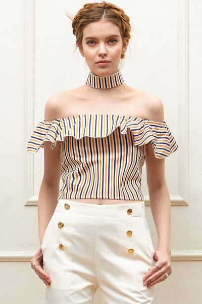 Julia Tie Off-the-Shoulder Top