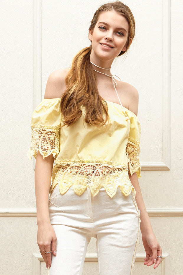 Loella Off-the-Shoulder Top
