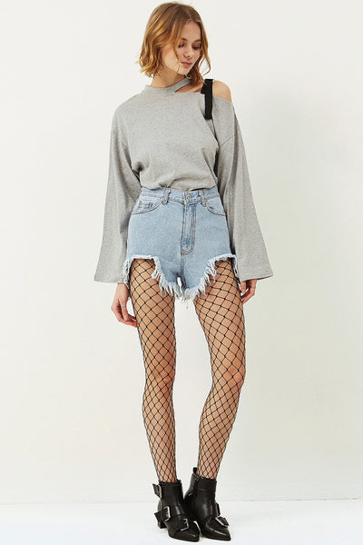Jamie Fishnet Tights